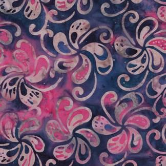 Bali - Petal Play - Spinning Petals - Navy/Pink Multi - 9163-52