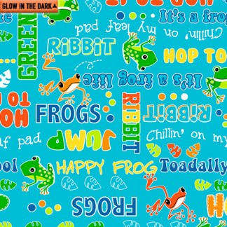 Toadally Cool - Glow in the dark - Say Ribbit - 9834GL-84