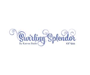 "Swirling Splendor 108"" Wide"