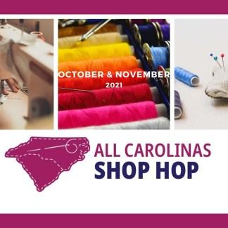 All Carolinas Shop Hop Fabric - PREORDER