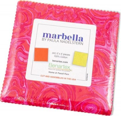 Marbella by Paula Nadelstern 5X5 Pack 42 5-inch Squares Charm Pack