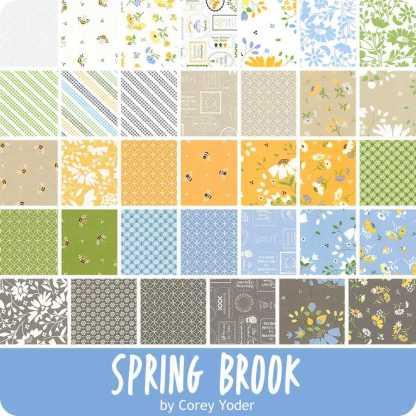 Moda Jelly Roll - Spring Brook