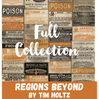 Regions Beyond by Tim Holtz