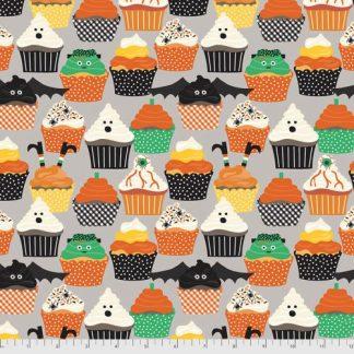 Boolicious by Maude Asbury for FreeSpirit - Frankencakes - Grey