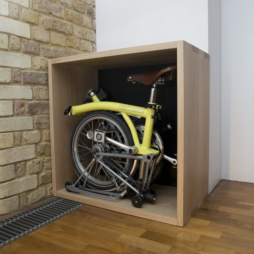 Furniture That Stores Hides A Folding Bike Ie