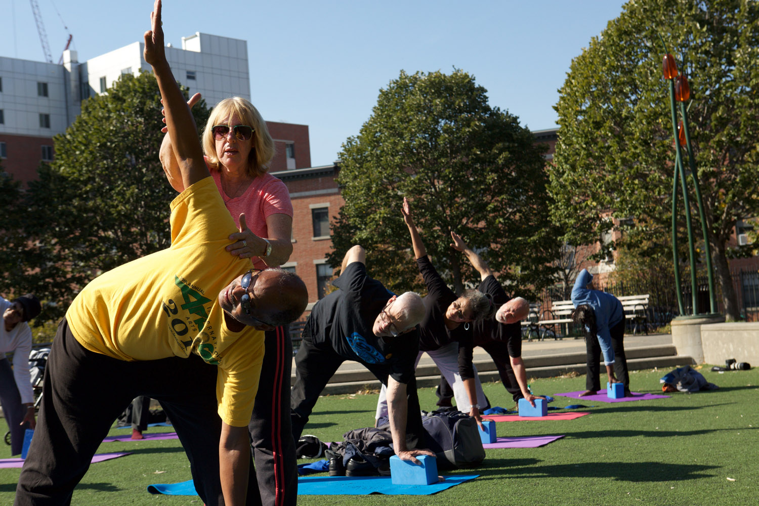 City Parks Foundation Launches Spring Season Of Cityparks Senior Fitness