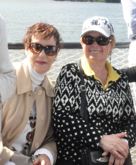 Kathy and Carole West Point