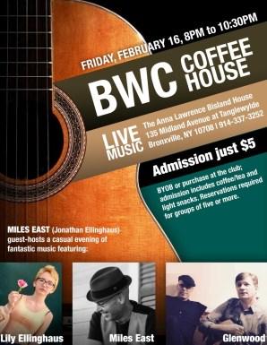 Feb 2018 Musicians Coffeehouse
