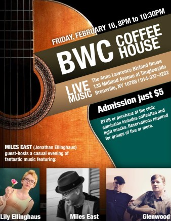 Feb 2018 Musicians Coffeehouse