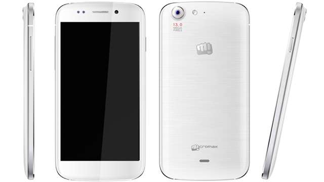 An Eye Catching Design of Micromax Canvas 4