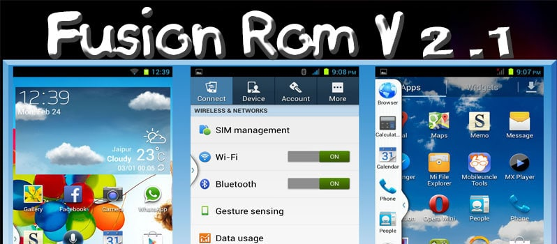Fusion Rom V2.1 for Micromax Canvas 2.2 A114