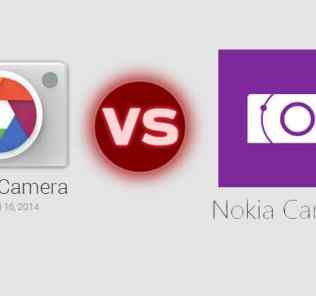 Google Camera and Nokia Camera App
