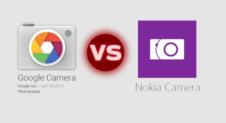 Google Camera and Nokia Camera App