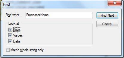 SearchBox in Registry Editor