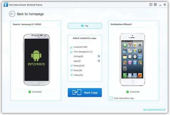 Transferring Data from Android to iOS