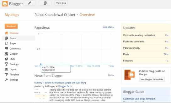 Blogger - Blogging Platform by Google