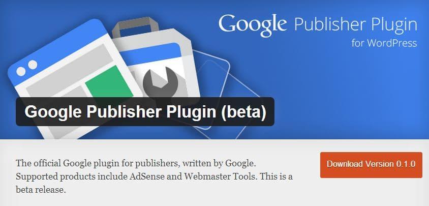 Google Publisher Plugin for Wordpress