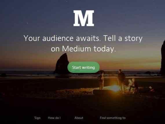 Medium- Blogging Platform integrated with Twitter