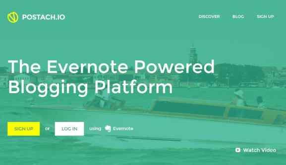 Postach.io - Blogging Platform by Evernote