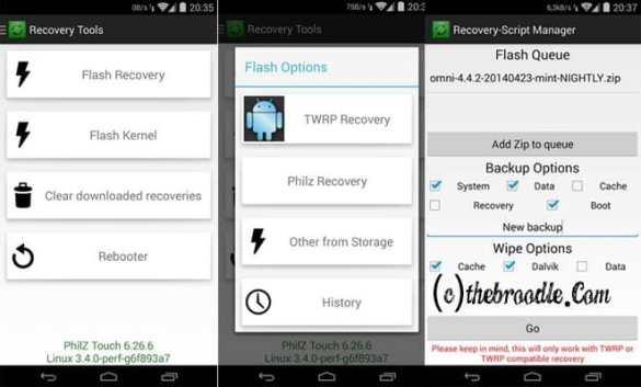 Rashr - Flash Tool for Custom Recoveries