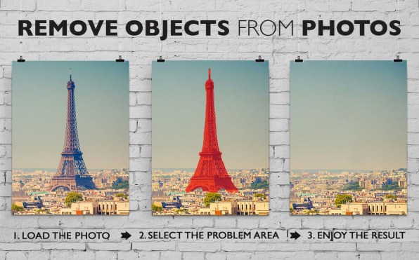 Remove Objects from photos