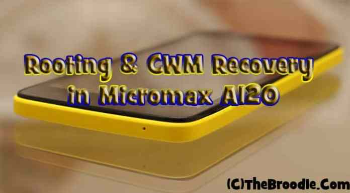 Rooting and CWM in Micromax A120 Canvas 2 Colours