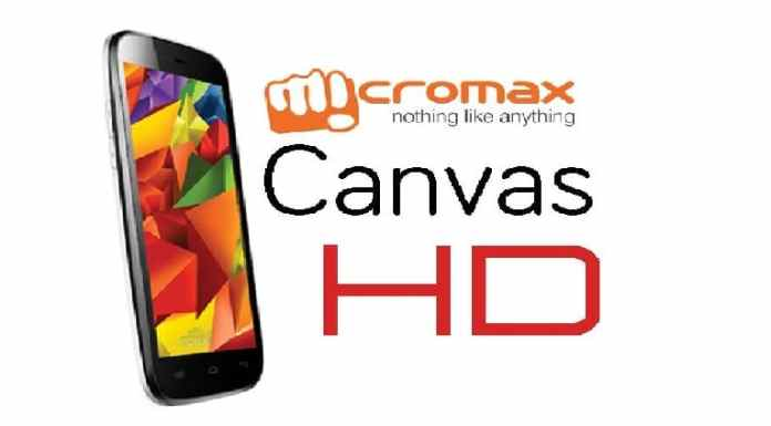 Micromax Canvas HD Rooting and CWM