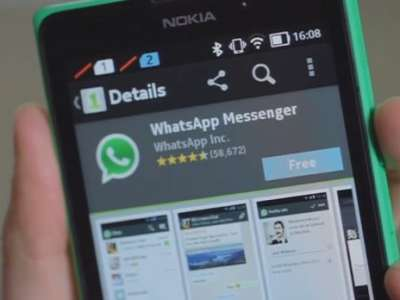 WhatsApp in Nokia X