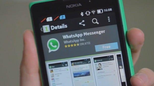 WhatsApp in Nokia X
