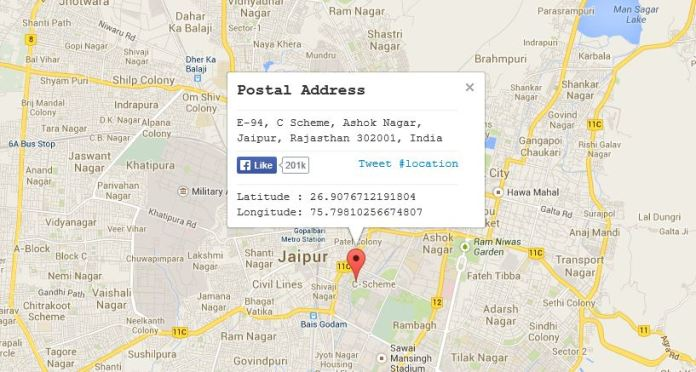 How to Find Postal Zip Code of any Location with Google Maps Address Map on address home, address email, address art, address numbers, address search, address locator, address letter,