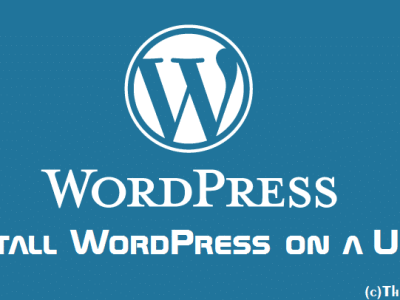 Portable WordPress