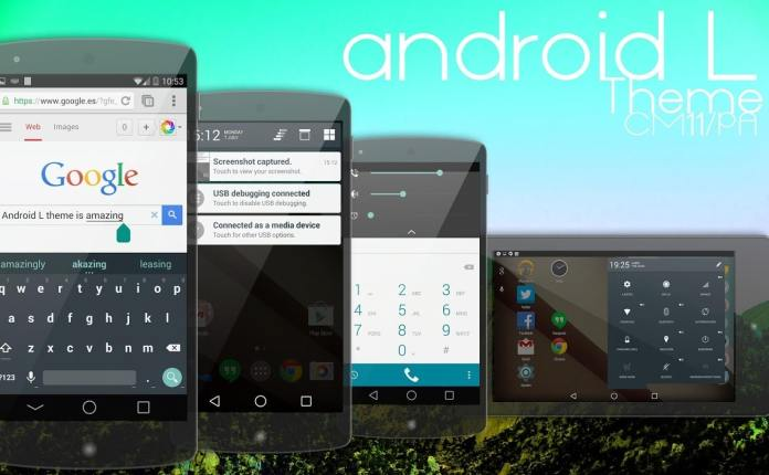Android L 5.0 for CM11