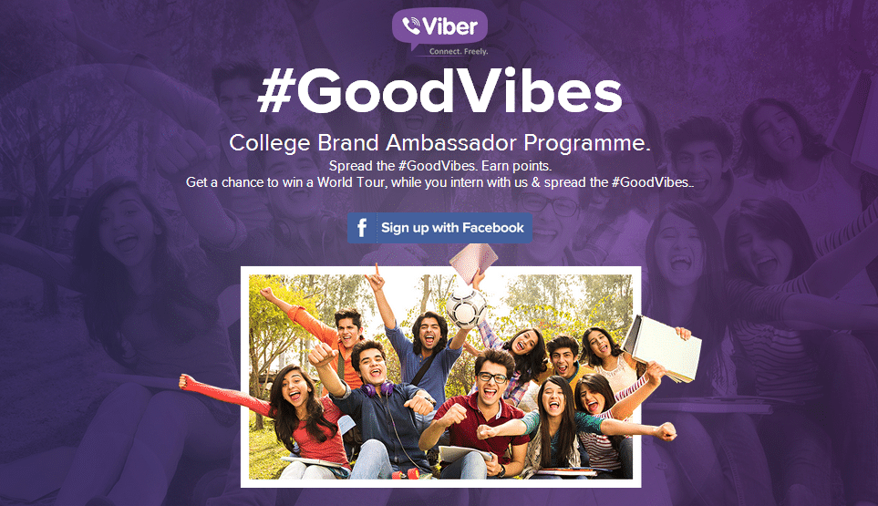 GoodVibes - internship program from viber