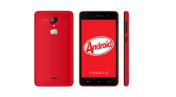 AOSP Kitkat Rom for Micromax A106 Unite 2