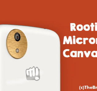 Rooting Micromax Canvas A1