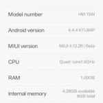MIUI 6 Android 4.4 KK For Xiaomi Redmi 1S Armani