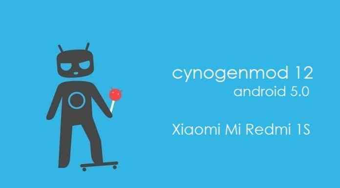 CM12 For Mi Redmi 1S
