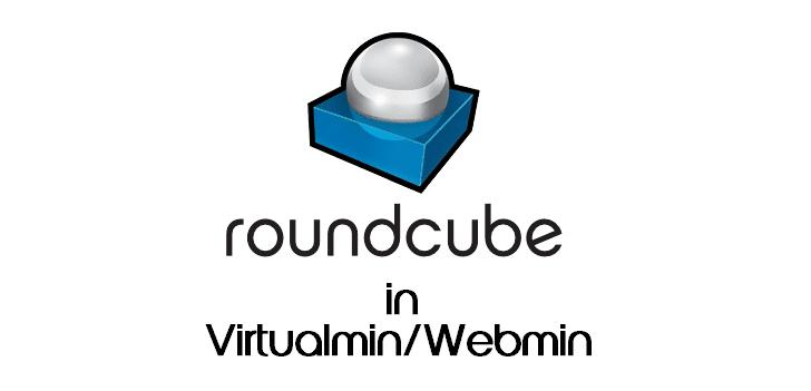 Installing roundcube in virtualmin
