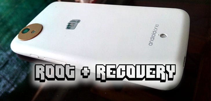 Root & Recovery in Android One after lollipop update
