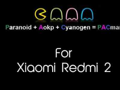 Pac Man Rom for Xiaomi Redmi 2