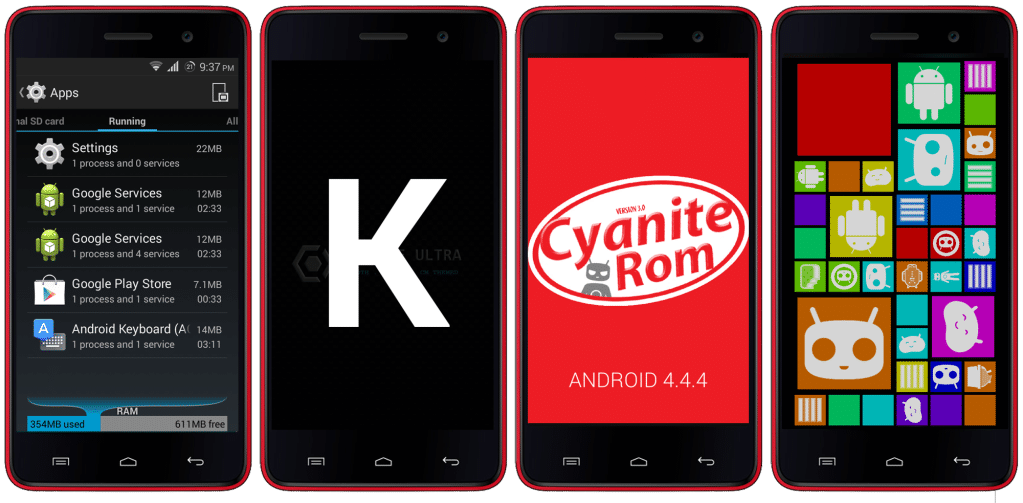 Unofficial CM11 Based Cynite Ultra ROM For Micromax A106 Unite 2