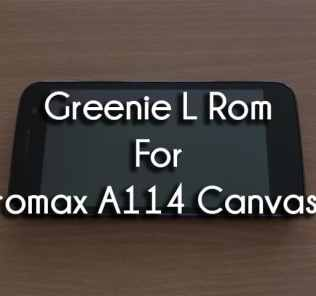 Greenie L Lollipop Themed Rom For Micromax Canvas 2.2 A114