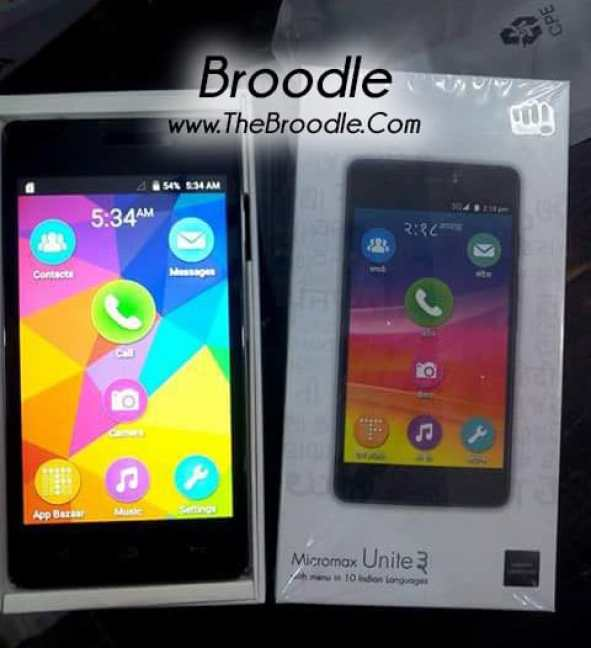 Micromax Unite 3 Leaked Online