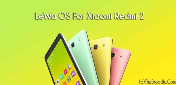 Lewa OS For Xiaomi Redmi 2