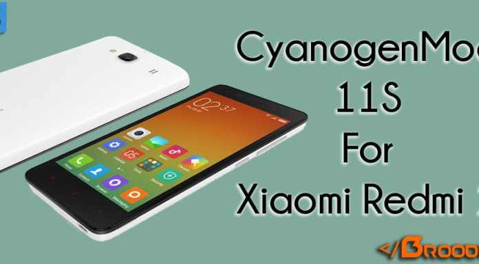 CM11S For Xiaomi Redmi 2