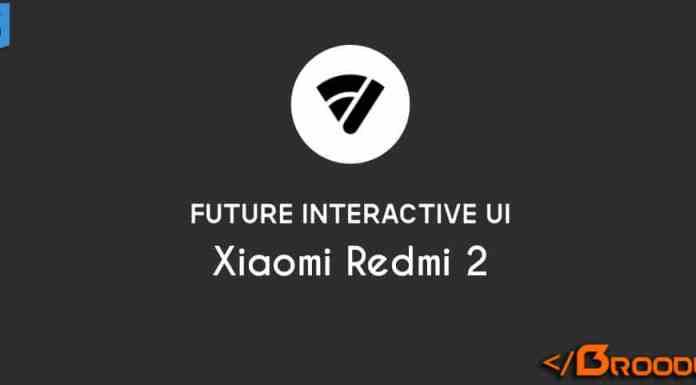 Future Interactive UI For Xiaomi Redmi 2