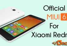 Official MIUI 6 For Xiaomi Redmi 2