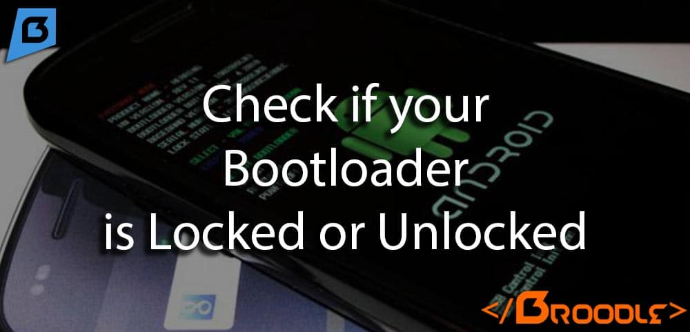 Check if your bootloader is locked or unlocked