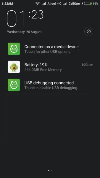 MIUI 7 For Xiaomi Redmi 1S 1