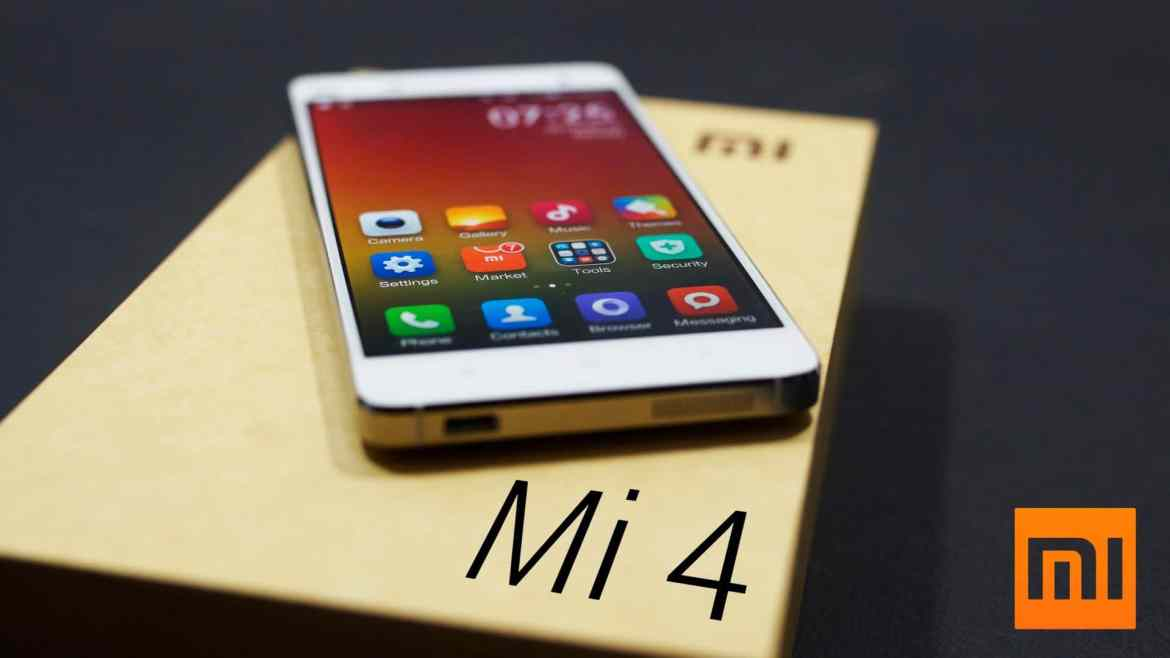 XIAOMI MI4 GETS HAND ON ANDROID 6.0.1 MARSHMALLOW UPDATES